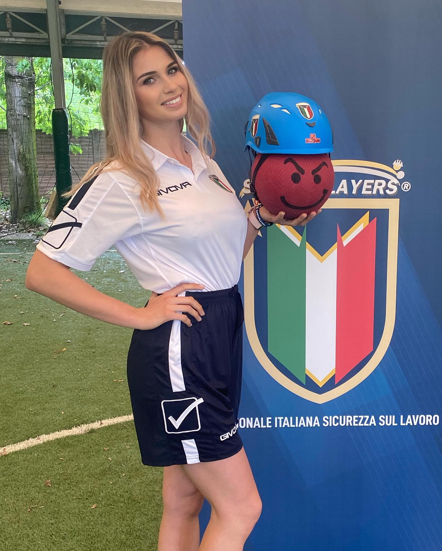 Giorgia Capaccioli - Madrina della NSSL