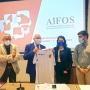 La maglia della Nazionale Italiana Sicurezza sul Lavoro donata ad AiFOS. Il presidente Vitale: da oggi questa maglia è anche la nostra!